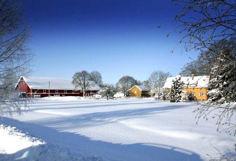 I vinterdvale: Husebylåven ligger i vinterdvale mens de siste finjusteringene på tegnebrettet pågår. FOTO: ROAR GRØNSTAD