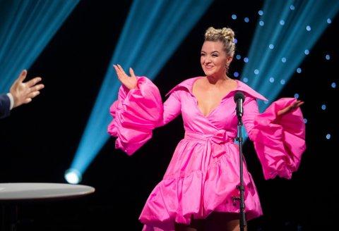 FAVORITT: Alexandra Rotan fra Råholt er i kveld å se på skjermen når Stjernekamp vises på NRK.