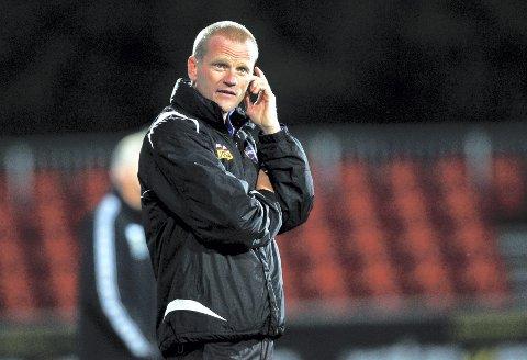 TIDLIGERE SF-TRENER: Arne Sandstø var SF-trener mellom 2011 og 2013. Dette bildet er fra 2012.