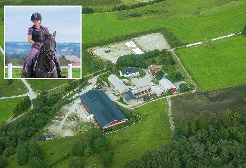 UNDRER: Linn Sletvold stiller flere spørsmål til at Friheten Rideklub eventuelt får Sandnes- og Jæren rideklubb til nabo.