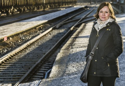 I realiteten snakker vi om tre helt ulike jernbanetraseer, skriver Ann-Hege Indrevoll i Sarpsborg Høyre. (Foto: Johnny Helgsen)