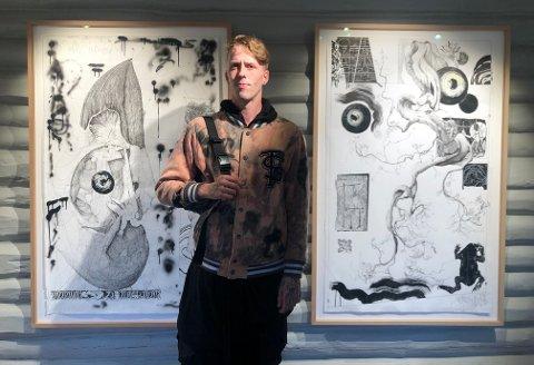 Til Soli Brug: Fredrikstad-kunstner Martin Schreiner er en av i alt seks kunstnere som stiller ut på Soli Brug i tiden framover.