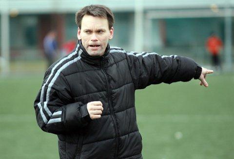 TRENER: Dag Klavestad var den siste treneren i SFK før klubben startet på nytt i 4. divisjon.