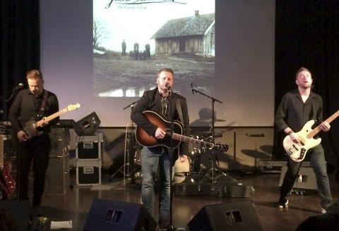 Fikk Heder: I flere år har bandet Jack Stillwater jobbet med platen «The Farmer Trilogy».