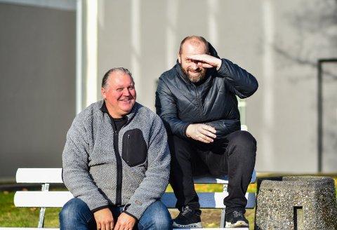 VIL HA KANDIDATER: Juryen til årets kraftpris består av Tommy Leret fra Kraftfestivalen, samt Uno Andersen fra Askimbyen.