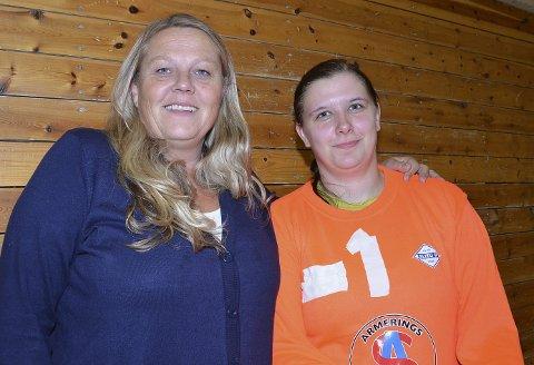 HAR ÆREN: Kristin Karlsen, som trente Benedicte Igletjern i åtte år, har æren for at sistnevnte er tilbake på håndballbanen.