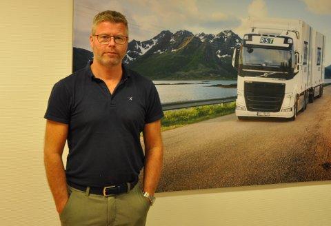 FRYKTET NEGATIV KORONAEFFEKT: Richard Sæther i RST Logistics fryktet pandemien ville få store negative konsekvenser for transportselskapet, men endte opp med å oppleve det motsatte.