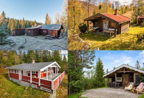 RIMELIG HYTTE: Det er ikke bare millionhytter som selges i Telemark. For tiden ligger det 38 hytter ute for salg her i fylket med en prisantydning på under en million kroner.