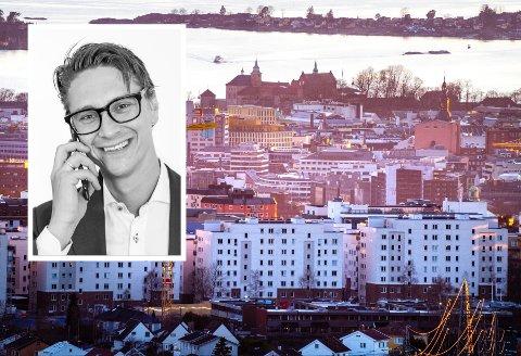 Milliardomsetning: Eiendomsmeklerkjeden som Joachim Schala startet for sju år siden omsetter for milliarder. I det brennhete Oslo-markedet alene omsatte Schala & Partners eiendommer for 6,2 milliarder i 2020.
