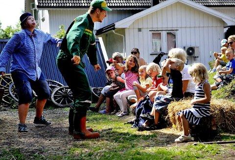 Buggegården: På Nykirke kan du oppleve teater, dyr og aktiviteter. I fjor kom det 8.000 gjester hit.