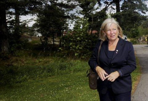 BER OM HJELP: Tjøme-ordfører Bente Bjerke (Ap) ber politiet vurdere funnene i granskningsrapporten.