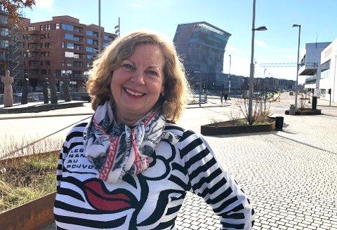 MYE Å BIDRA MED: Berit Svendsen leder Vipps' internasjonale satsing. Hun mener vi har kommet langt i digitaliseringen i Norge og derfor har mye å vise til i utlandet.