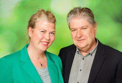 Suzy C.S. Haugan og Kåre Pettersen