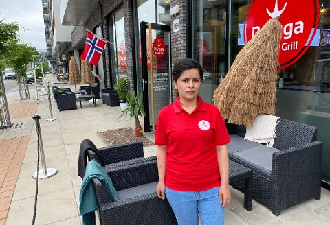 VISSTE IKKE: Eier Kahin Ghazi Ahmed ved Brygga Grill & Pizza var ikke klar over at alle salgs- og skjenkesteder skal ha et internkontrollsystem for håndtering av alkohol.