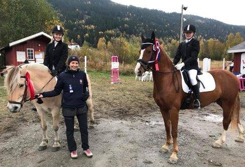 Dyktige: Valdres Ride- og Kjøreklubb har mange aktiviteter både i Valdres og utenom distriktet.