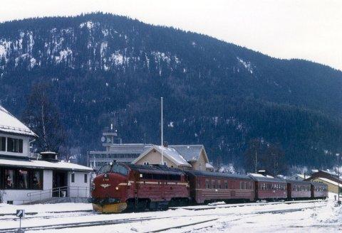 Nostalgisk bilde fra Fagernes.