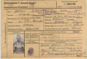 Tatt til fange: Jasjin ble født i Moskva i 1905 og arbeidet som lege. Han ble tatt til fange 18. juli 1941 ved Bobrujsk i Hviterussland. Han ble sendt videre til fangeleirene Stalag II-B ved byen Hammerstein i Polen.
