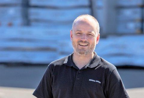 Rekordår: Daglig leder i Begna Bruk, Trond Mæhlum, har grunn til å smile. I 2020 omsatte bedriften for 240 millioner kroner.