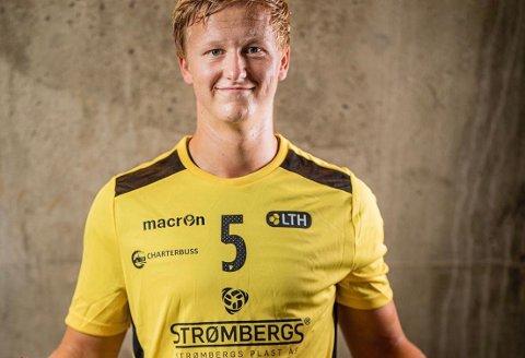 TALENT: Herman Bredal Oftedal er strålende fornøyd med å ha blitt tatt ut på juniorlandslaget. Nå gleder han seg til å spille kamper med flagget på brystet.