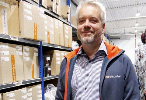 KAN GODT KJEDE SEG LITT: - Flott om de ansatte kjeder seg litt, så det blir ekstra gøy å komme tilbake på jobb, sier Fjellsport-gründer Eric Sandtrø.