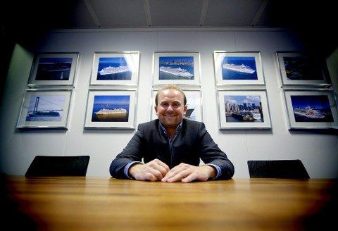 LEVERER: Scanship og administrerende direktør Henrik Badin har den største ordrereserven i selskapets historie.