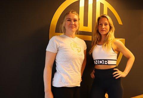 Flyt: Mari Joramo (36) og Agnes Naur Kiss (34) fornøyd med å ha utviklet et vellykket konsept på tre år. Foto: Inger Eide Nordseth