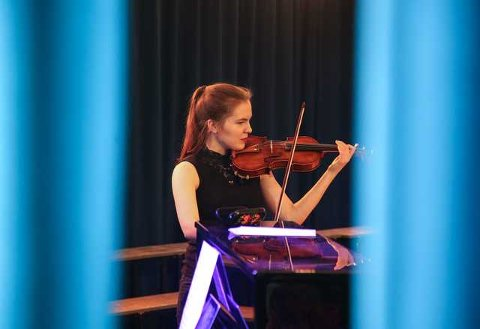 Marie Kristine Øydvin vant Martin Lundes musikkstipend i år.