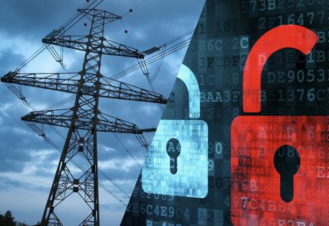 Fra forsiden på Riksrevisjonens undersøkelse av NVEs arbeid med IKT-sikkerhet i kraftforsyningen