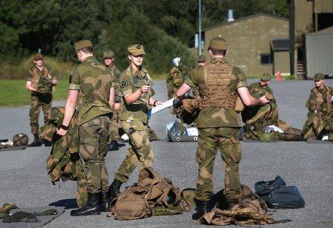 Kvinner i Forsvaret.Bodin Leir