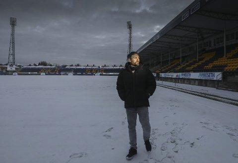 Løp til fansen: Thiago Martins brukte å feire sammen med fansen da han scoret mål. Nå reflekterer han på tiden i Glimt.