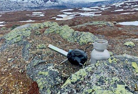 BESLAGLAGT: Politiet etterlyste denne uka eieren av støykanonen som ble beslaglagt i Øvre Dividal nasjonalpark. Foto: Politiet