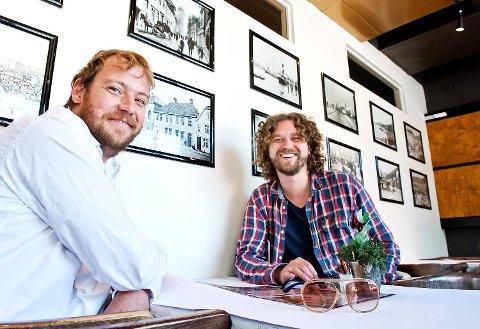 Jørgen Sandvik og Ivar Chelsom Vogt har kjent hverandre siden 1. klasse på Steinerskolen på Paradis.