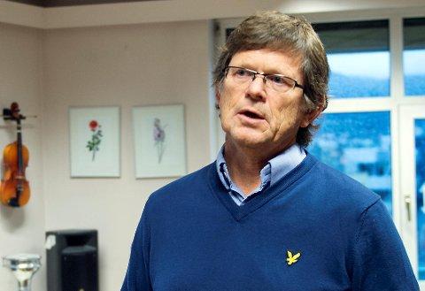 Rektor Mardon Åvitsland er glad for den økte støtten for å redusere køen av barn som vil inn på skolen.
