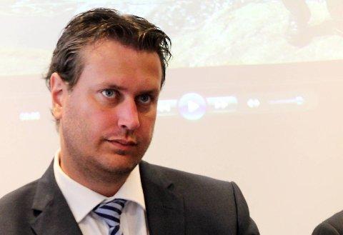Helge Andre Njåstad (Frp). FOTO: GEIR KVILE