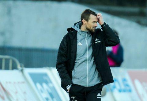 Eirik Horneland og Rosenborg har hatt en fryktelig seriestart. I kveld venter hjemmekamp mot Strømsgodset.  Foto: Vidar Ruud / NTB scanpix