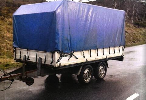 Da bergenseren ble vinket inn til siden i en kontroll, viste det seg at denne hengeren var stjålet i 1998.