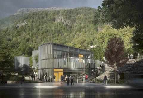 Prosjektleder Mona Løvås varsler at området kommer til å bli veldig forandret når bybanestoppet står ferdig.