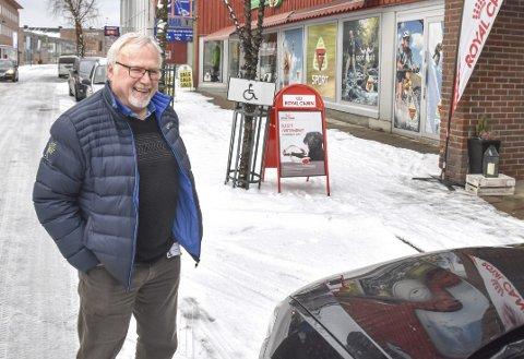 INGEN REPRISE: – Dette kommer ikke til å gjenta seg, lover Helge Haavik som tar det hele med et smil.