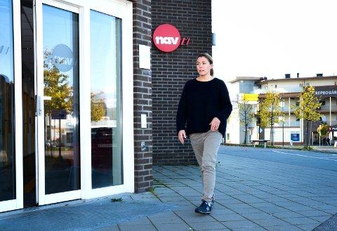 FELLES BASE: NAV-kontorene i Midtfylket kan få felles base, forteller Hilde Lysgård Knutsen i NAV Modum.