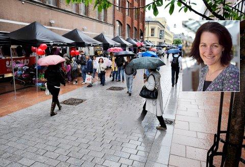 FORSKNING VISER: «...kombinasjonen av nettbutikk og sentrumsbutikk kan være en suksessformel.»