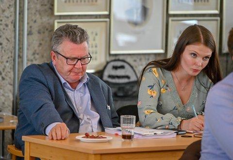 Frp-representantene Knut Gjerde og Kristin Løvås Gjerde tordnet mot forslaget til sykkelplan for Drammen kommune.