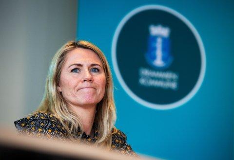 BEKYMRET: Ordfører Monica Myrvold Berg med en klar oppfordring til Drammens befolkning