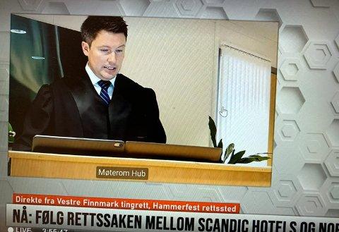 Nordkapp kommunes advokat Ole-Martin Jensen.