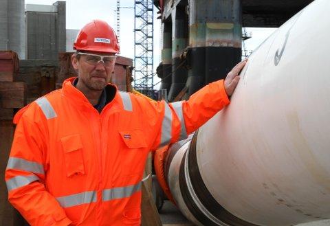 STOLT: Prosjektsjef Ole Anders Smørdal ved Westcon er stolt over at dei no har signert ein svært så omfattande kontrakt med Technip FMC