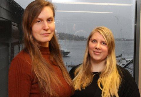 Landskapsarkitekt Magdalena Renkas (t.v.) og sivilarkitekt Pia Eide har begge funne seg vel til rette hos iVest og i Florø.