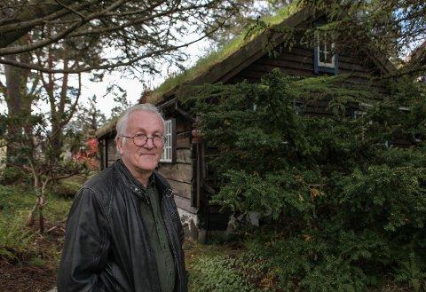 NYSATSING: - Det er første gongen vi opnar Jotunet for guida besøk, fortel Bjørn Fjellheim ved Kystmuseet i Sogn og Fjordane.