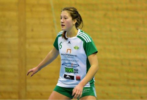 PLUKKET UT: Blant 100 spillere på samling i region Øst ble Selma Henriksen fra Kråkerøy plukket ut. Foto: Jørn Kristoffersen