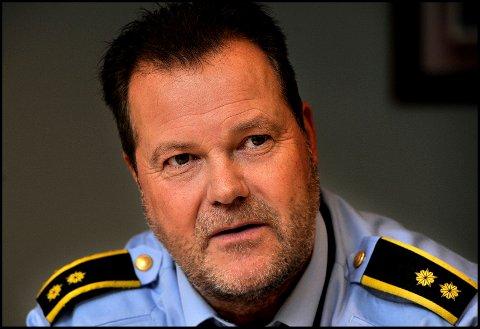 PÅGREPET: To kjenninger av politiet må tilbringe julehøytiden bak murene. Det opplyser leder for krimvakta Roger Bøe, til SA.