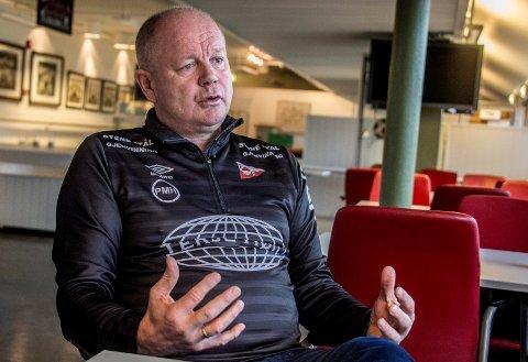FORHOLDER SEG ROLIG: FFKs sportslige leder Per-Mathias Høgmo sier klubben ikke vil foreta seg noe i overgangsvinduets siste dager.