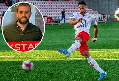 Riki Alba er strålende fornøyd med at FFK har fått inn Torvald Berthelsen (innfelt) som fysisk trener i klubben.